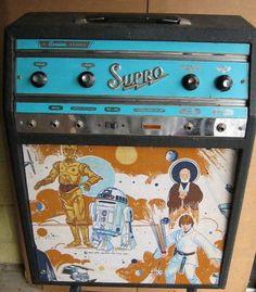 Supro star wars guitar amp