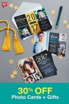 Get 30% OFF photo cards and gifts! Offer ends 4/16.