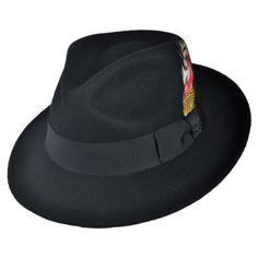 Stacy Adams Men s Felt Fedora at Amazon Men s Clothing store  Xxl Fedora.  Jaxon HatsBlack ... 67ae1fc90f35
