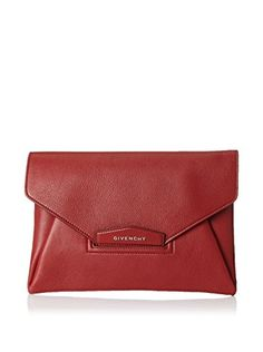 7200f9c9d8 Givenchy Women s Medium Antigona Envelope Clutch