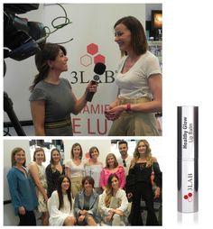 Inés Sainz, Miss España nos da sus impresiones sobre la presentación de la marca 3LAB en nuestras perfumerías.