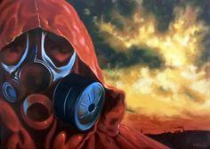 """Landfill""  Oil on canvas 50x70"