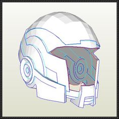 mass effect 3 n7 armor template - pepakura shield build resources tools and materials for