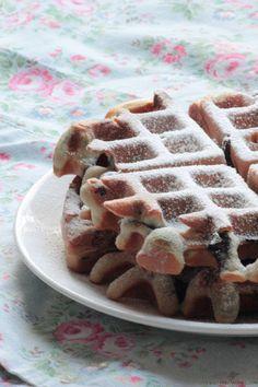 Bake: Blueberry Waffles