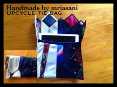 therusty_hen_crafts: Upcycle tie bag