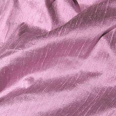 Dusky Lavender Iridescent Silk Dupioni Fabric