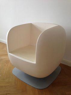 Luigi Colani Rarität Sessel von Weltausstellung 1982