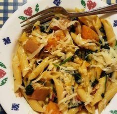 Pressure Cooker Butternut Squash Pasta