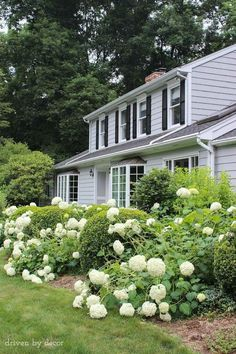 Exterior Paint Color Is Benjamin Moore Coventry Gray. Via Driven By Decor.