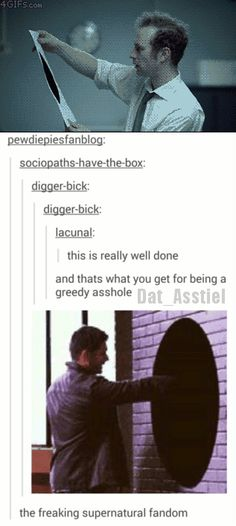 Supernatural has a gif for everything!