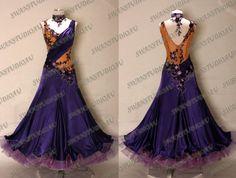 Ballroom Dance Dress: loving the top not so much the bottom