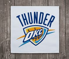 Oklahoma City Thunder - Embroidery design instant download #EmbroideryDownloadCom