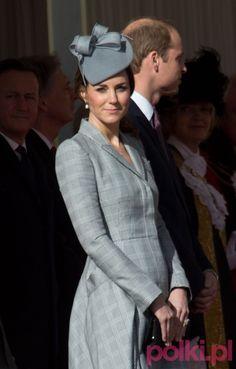 Księżna Kate w 3 miesiącu ciąży #polkipl