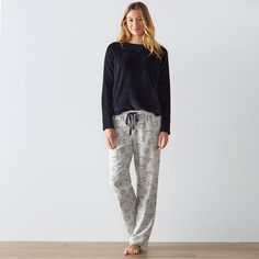 Women's SONOMA Goods for Life™ Pajamas: Cozy PJ Set