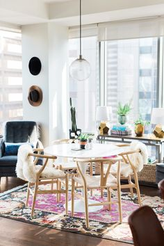 A Fashion Blogger at Home: Blair Staky of The Fox and She Welcomes Us Into her Chicago High-Rise   Rue