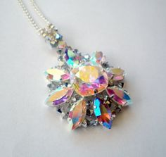 I made this Swarovski Crystal Star Pendant Necklace....it is for sale by TooSweetMagnolias on Etsy