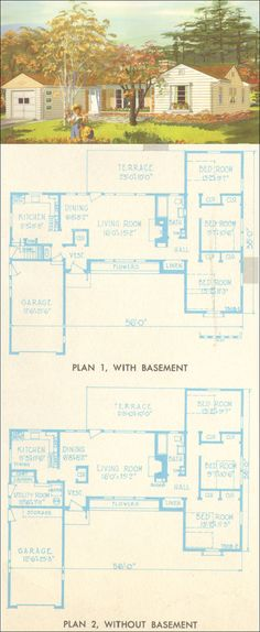 1954 National Plan Service - Plan 7308