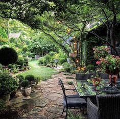 Cottage Garden Plan, Garden Nook, Garden Spaces, Side Yard Landscaping, Home Landscaping, Backyard Garden Design, Backyard Retreat, Small Courtyard Gardens, Outdoor Gardens