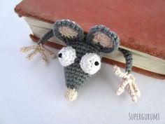 Amigurumi Crochet Rat