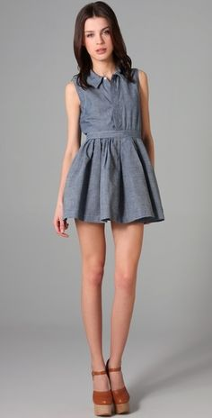 ONE by Levi's X Opening Ceremony Shirtdress $275.00