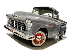 Make:  Chevrolet Model:  3100 Year:  1955 Body Style:  Pickup Trucks Exterior Color: Gray Interior Color: Tan Doors: Two Door Vehicle Condition: Excellent Price: $26,900 Mileage:1,200 mi Fuel: Gasoline Engine: 6 Cylinder Transmission: Manual  for more info: http://UnitedCarExchange.com/a1/1955-Chevrolet-3100-529201489260