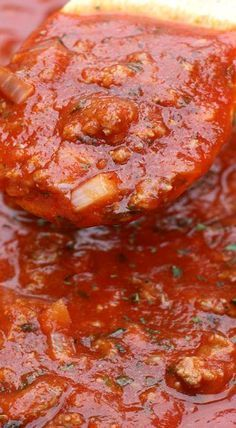 Source by kennykeckler Related posts: The Best Homemade Spaghetti Sauce Instant Pot Spaghetti Sauce is the most hearty and delicious homemade pasta sauc… Spaghetti mit Schinken-Sahne-Sauce Spaghetti mit Garnelen-Sahne-Sauce Spagetti Sauce, Best Spaghetti Sauce, Spaghetti Recipes, Italian Spaghetti Sauce Homemade, Pasta Spaghetti, Spaghetti Sauce With Mushrooms, Spaghetti Sauce From Scratch, Slow Cooker Spaghetti Sauce, Homemade Sauce