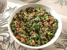 Black Eyed Peas, Sprouts, Beans, Vegetables, Kitchen, Food, Diet, Cilantro, Red Peppers