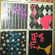 My coasters