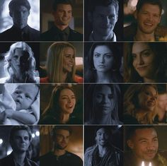 The Originals Season 1 and Season 5 Vampire Diaries The Originals, Vampire Diaries Damon, Vampire Diaries Quotes, Originals Season 1, The Originals Tv, Caroline The Originals, Hayley And Klaus, Klaus And Hope, The Orignals