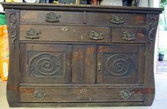 Annie Sloan Chalk Paint Kitchen Cabinets   Midwest Cottage & Finds: Annie Sloan Chalk Paint Sideboard Make Over
