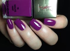 "Fashion Polish: Yves Saint Laurent ""La Laque Couture"" or the new and improved YSL lacquer range... 2/2"