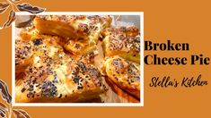 Broken cheese pie. Cheese Pies, French Toast, Muffin, Breakfast, Cake, Food, Morning Coffee, Cheese Cakes, Food Cakes
