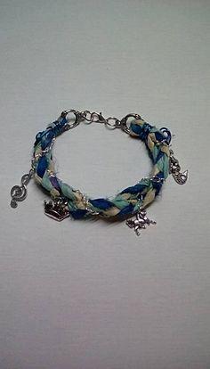 Braided Sari Silk Bracelet