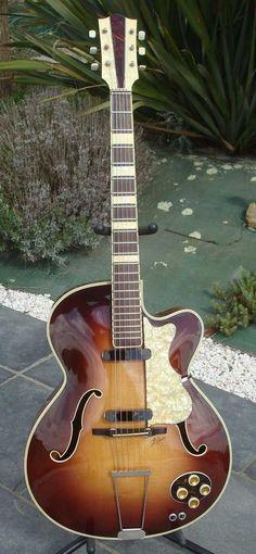 1956 Hofner 456 Electric Archtop Guitar