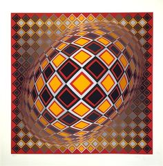 Teke by Victor Vasarely