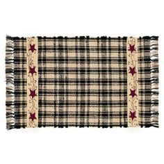 Country Village Shoppe - Starberry Vine Woven Rug 24x42, $29.66 (http://www.countryvillageshoppe.com/starberry-vine-woven-rug-24x42/)