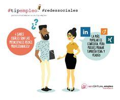 Las Redes Profesionales en Internet y la búsqueda de empleo, tipempleo de la semana http://portalvirtualempleo.us.es/tip-empleo/