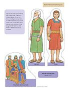 Abinadi And King Noah Put In Envelope With Scripture Reference Kids Can Practice Stories