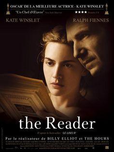 The Reader est un film de Stephen Daldry avec Kate Winslet, Ralph Fiennes. Synopsis : Allemagne de l'Ouest, au lendemain de la Seconde Guerre mondiale.Un adolescent, Michael Berg, fait par hasard la connaissance de Hanna, une femm
