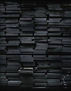 Black wood.