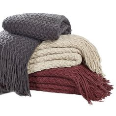 Shop for Brielle Winding Wave Throw. Free Shipping on orders over $45 at Overstock.com - Your Online Blankets & Throws Outlet Store! Get 5% in rewards with Club O! - 19675139