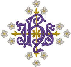 Vintage Ecclesiastical Design 329 Embroidery Design