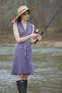 gorgeous dress and beautiful yarn Ravelry: All the Stops Dress pattern by Caroline Fryar