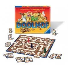 De betoverde doolhof bordspel. Het bekende Betoverde Doolhof spel van Ravensburger.