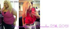 54 pound weight loss  Liz @ Fitness Blondie http://fitnessblondie.blogspot.com