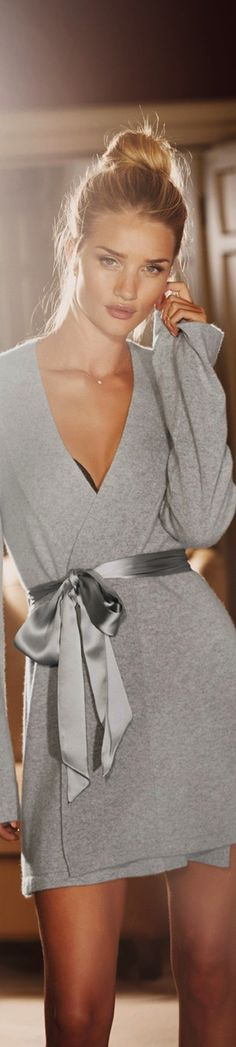 Rosie Huntington Whiteley for Marks&Spencer - she is lovely but THAT is a must have...