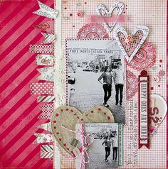 #acrabbook #ideas #red #love #couple