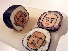 Sushi Lovers Check Out Tama-Chan,s Sushi Art