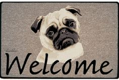 Pug Decorative Doormat