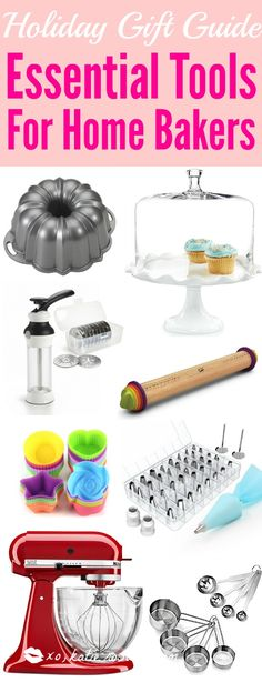 It Can Be So Difficult To Shop For A Home Baker And I Donu0027t Know Where To  Start. But This Guide Is Perfect! These Tools And Gift Ideas Are Amazing!